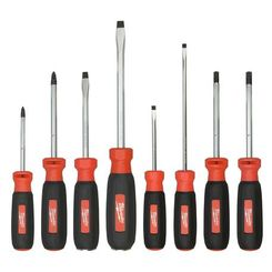 Click here to see Milwaukee 48-22-2708 Milwaukee 48-22-2008 8 Piece Screwdriver Set