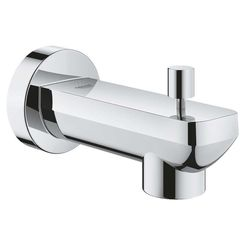 Click here to see Grohe 13382001 Grohe 13382001 Lineare Diverter Tub Spout, Starlight Chrome