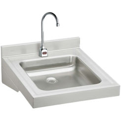 Click here to see Elkay WCL1923OSDSBC Elkay WCL1923OSDSBC  Wheelchair Lavatory Wall-Mounted Sink Package