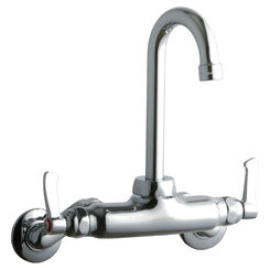 Click here to see Elkay LK945GN04L2T Elkay LK945GN04L2T  Commercial Wall-Mounted Faucet