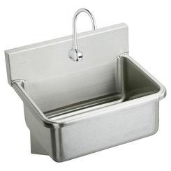 Click here to see Elkay EWS3120SACMC Elkay EWS3120SACMC Scrub-Up Stainless Steel Single Bowl Sink Package