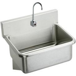 Click here to see Elkay EWS2520SBTMC Elkay EWS2520SBTMC  Surgeon's Sink and Sensor Faucet