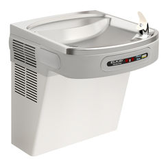 Click here to see Elkay LZO8S Elkay LZO8S Wall-Mounted Hands-Free Water Cooler - 8 GPH, Filtered, 115v, Stainless