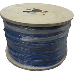 Click here to see Regency Wire  14 Gauge Single Strand Tracer Wire Blue 1000' Roll