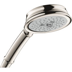 Click here to see Hansgrohe 04334830 Hansgrohe 04334830 Croma 100 Classic 3-Jet Handshower, Polished Nickel