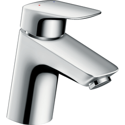 Click here to see Hansgrohe 71078001 Hansgrohe 71078001 Logis 70 Single-Hole Faucet, Chrome