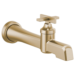Click here to see Brizo T65798LF-GL Brizo T65798LF-GL Levoir Single-Handle Wall-Mount Lavatory Faucet - Luxe Gold
