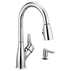 Click here to see Peerless P7901LF-SD-W PEERLESS P7901LF-SD-W APEX ONE HANDLE PULLDOWN KITCHEN FAUCET CHROME