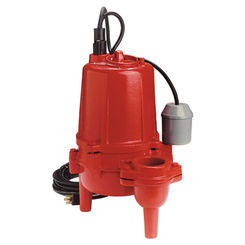 Click here to see Red Lion 620043 Red Lion 620043 RL52SA 1/2 HP Heavy-Duty Cast Iron Sewage Pump