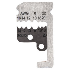 Click here to see Klein 11073 KLEIN 11073 BLADES FOR WIRE STRIPPER 8 TO 22 AWG