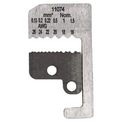 Click here to see Klein 11074 KLEIN 11074 BLADES FOR WIRE STRIPPER 16 TO 26 AWG