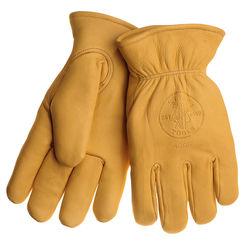 Click here to see Klein 40017 KLEIN 40017 COWHIDE GLOVES WITH THINSULATE LARGE