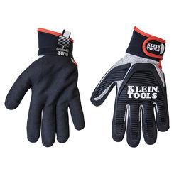 Click here to see Klein 40225 KLEIN 40225 JOURNEYMAN CUT 5 RESISTANT GLOVES, XL