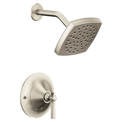 Click here to see Moen TS2912EPBN Moen TS2912BN Flara Posi-Temp Shower Only Trim, Brushed Nickel, Eco Performance