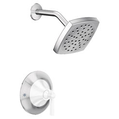 Click here to see Moen TS2912NH Moen TS2912NH Flara Posi-Temp Shower Trim Only, Chrome, Less head
