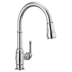 Click here to see Delta 9990-DST Delta 9990-DST Broderick One Handle Pulldown Bar Faucet, Chrome