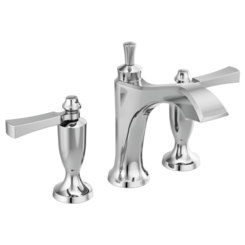 Click here to see Delta 3556-MPU-DST Delta 3556-MPU-DST Dorval Widespread Lavatory Faucet (Less Handles), Chrome
