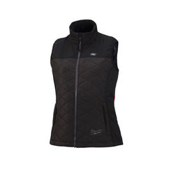 Click here to see Milwaukee 333B-20L Milwaukee 333B-20L Axis M12 Women's Heated Vest, Black, Large