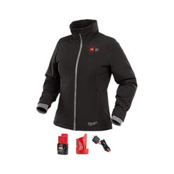 Click here to see Milwaukee 232B-21L Milwaukee 232B-20L M12 Women's Heated Jacket Kit, Large - SoftShell