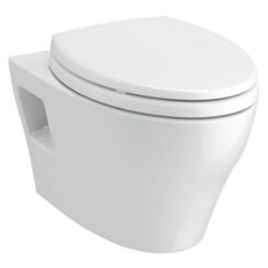 Click here to see Toto CT428CFG#01 TOTO EP Wall-Hung Toilet Bowl - 1.28 GPF & 0.9 GPF, CT428CFG#01 - Cotton