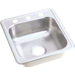 Click here to see Dayton D117211 Dayton D117211 Stainless Steel Top Mount Double Bowl Sink