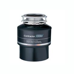 Click here to see Insinkerator CONTRACTOR-1000 Insinkerator Contractor-1000 1 HP Garbage Disposal, Less Cord - Black