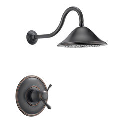 Click here to see Brizo T60210-RB Brizo T60210-RB Traditional Venetian Bronze Tempassure Shower Trim