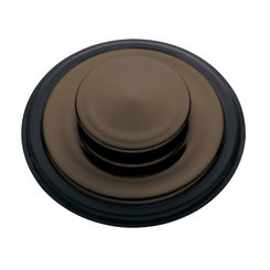 Click here to see Insinkerator STP-MB InSinkErator STP-MB Mocha Bronze Sink Stopper For InSinkerator Garbage Disposals