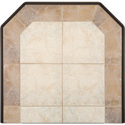 Click here to see  PW-4848C2-SS-2 Hearth Classics PW-4848C2-SS-2 Sadona Siena Wall Hearth