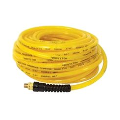 Click here to see Bostitch HOPB38100 Prohoze HOPB38100 Heavy Duty Air Hose, 3/8 in x 100 ft, 300 psi, PVC/Rubber Blend