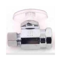Click here to see Plumb Pak PP20053LF Plumb Pak PP20053LF 1/4 Turn Straight Shut-Off Valve, 1/2 X 3/8 in, FIP X OD, Brass Body, Chrome Plated