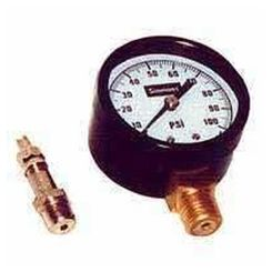Click here to see Simmons 1306 Simmons 1306 Pressure Gauge, 0 - 200 lb, 2 in Dial, 1/4 in MPT, Steel