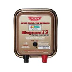 Click here to see Parker McCrory MAG12UO Parmak Magnum 12 MAG12UO Low Impedance Electric Fence Charger, Battery Powered
