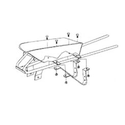 Click here to see Wellmade 402301 Wellmade 402301 Carton Wheelbarrow Part, For Use With NO.HD6, NO.Y5 Wheelbarrows, Steel