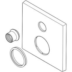Click here to see Delta RP84982SS Delta RP84982SS Stainless Integrated Diverter Escutcheon