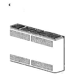 Click here to see Cozy 42755 Cozy 42755 Furnace Cabinet for CDV255B, CDV256B, CDV335B, & CDV336B