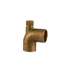 Click here to see Commodity  Cello 705-D 90 deg. Copper x Copper Elbow Pressure Fitting with Vent