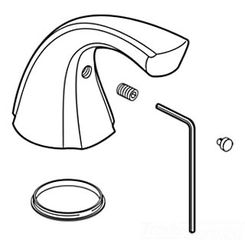 Click here to see Delta RP61287SS Delta RP61287SS Delta Single Metal Handle Kit w/ Button and Set Screw (Stainless)