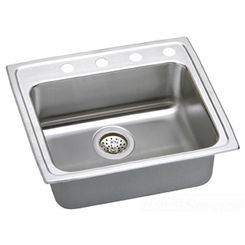 Click here to see Elkay LRADQ2521402 Elkay LRADQ2521402 25 x 21 Inch Gourmet Sink with Quick-Clip