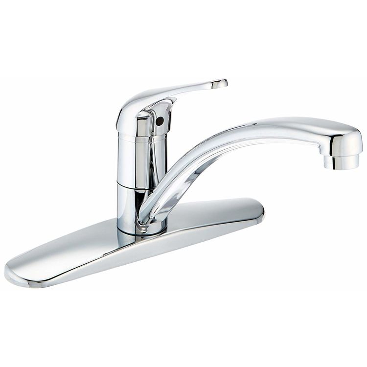 Danze D406112t Melrose Single Handle Kitchen Faucet 2 5 Gpm Chrome