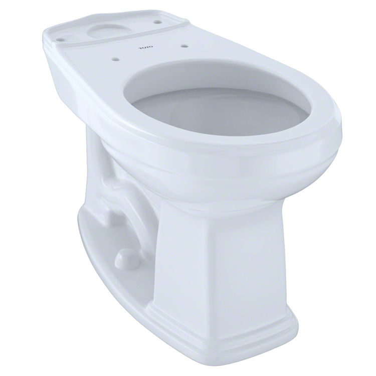 Incredible Toto Eco Promenade And Promenade Universal Height Round Toilet Bowl With Cefiontect Cotton White C423Efg01 Pdpeps Interior Chair Design Pdpepsorg