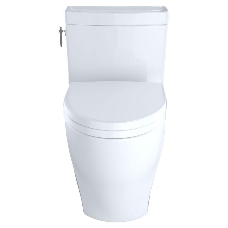 Toto MS626214CEFG#01 Toto MS626214CEFG#01 Aimes One-Piece Elongated Toilet, 1.28 GPF - Cotton White
