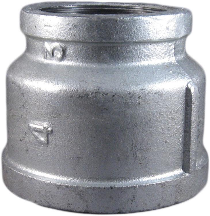 Commodity  GALBR43 Galvanized Bell Reducer, 4
