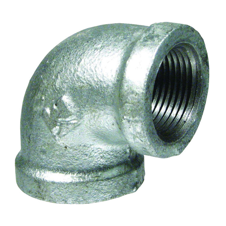 Commodity  GALL114 Galvanized 90 Degree Elbow, 1-1/4 Inch