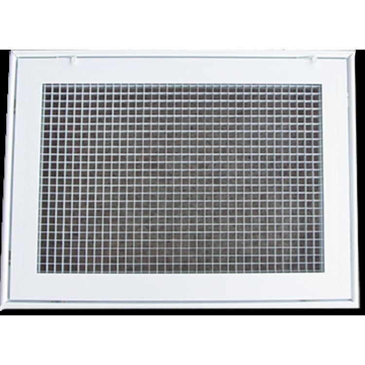 View 2 of Shoemaker 620FG1-14X10 Shoemaker 620FG1-14X10 Lattice Filter Grille - Soft White