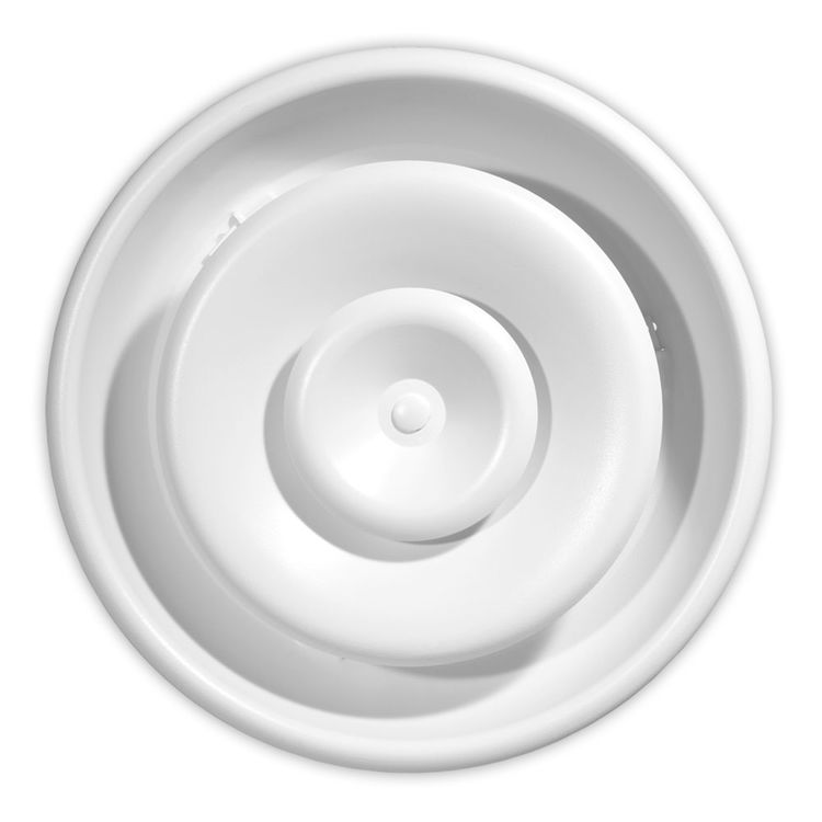 Shoemaker Rd 6 White Round Ceiling Diffuser