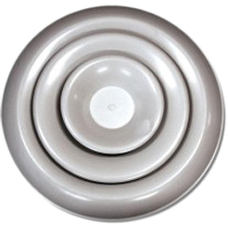 Shoemaker Rda 6 White Round Ceiling Diffuser Adjustable