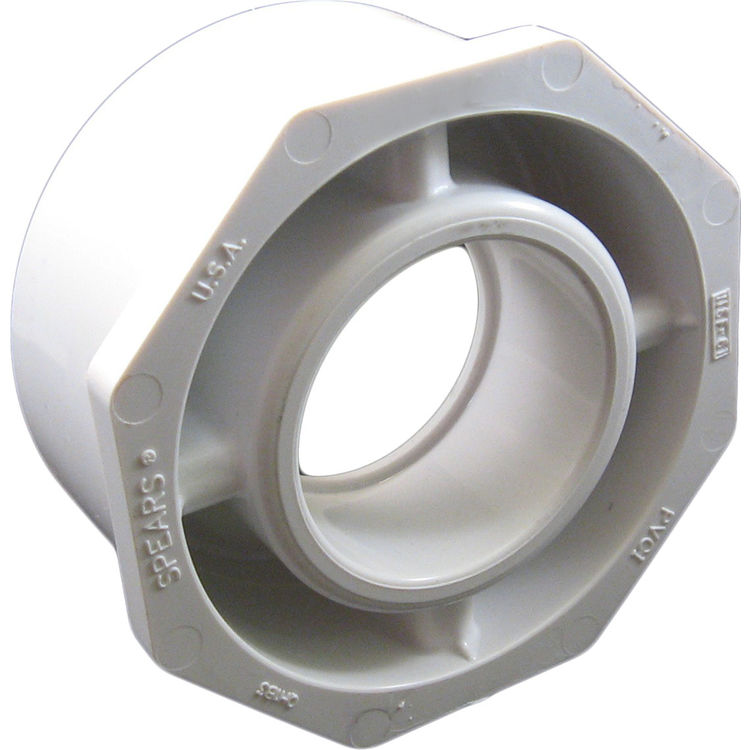 Commodity  PVCB64 Schedule 40 PVC Bushing, 6 x 4 Inch