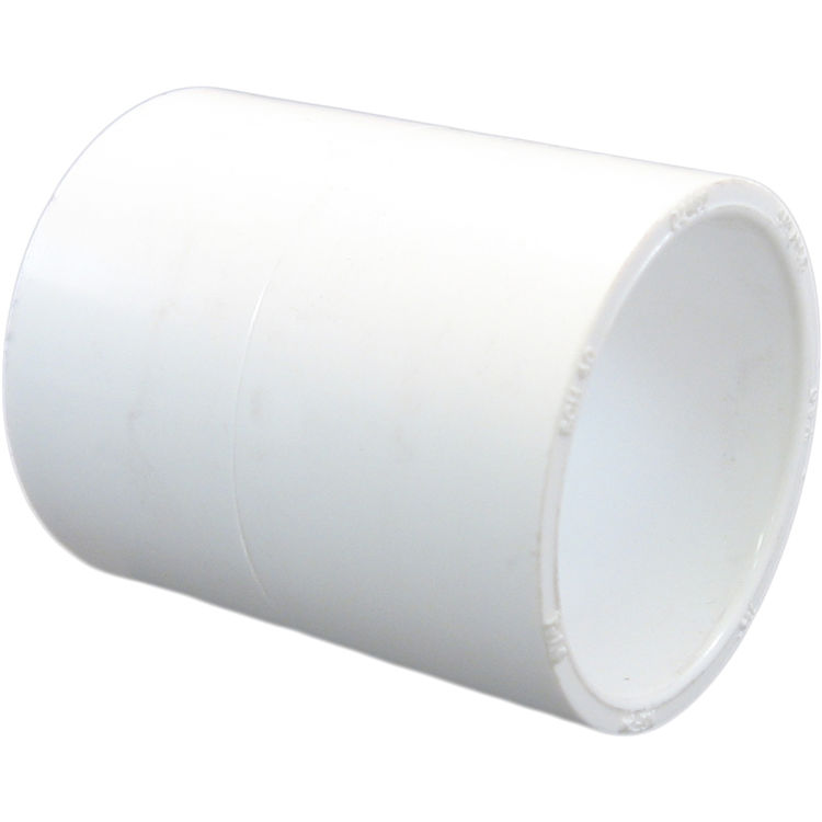 Commodity  PVCCUP12 Schedule 40 PVC Coupling, 1/2 Inch