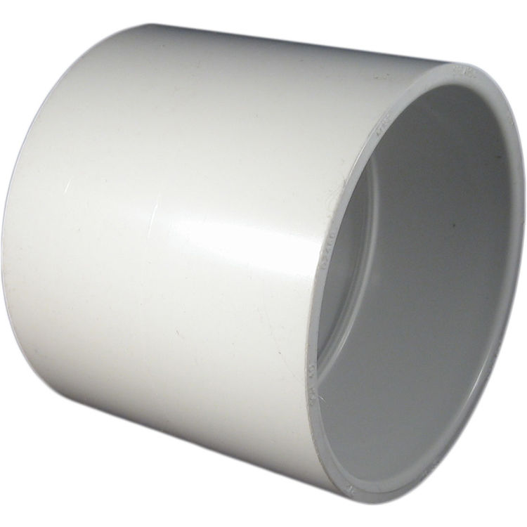 Commodity  PVCCUP6 Schedule 40 PVC Coupling, 6 Inch